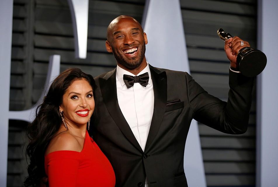 """Есть в коллекции Коби и неожиданная награда – «Оскар» за ленту """"Дорогой баскетбол"""" Фото: REUTERS"""