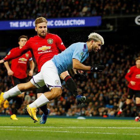 «Манчестер Сити» вышел в финал Кубка Английской Лиги, проиграв «Манчестер Юнайтед» 0:1