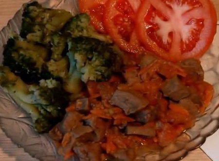 Пошаговый рецепт приготовления печени индейки