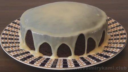 Пошаговый рецепт приготовления шоколадного пирога