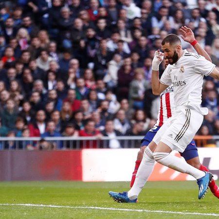 «Реал» победил 1:0 «Атлетико» в мадридском дерби благодаря голу Карима Бензема