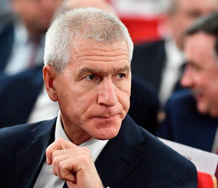 Матыцин приостановил деятельность на посту главы FISU